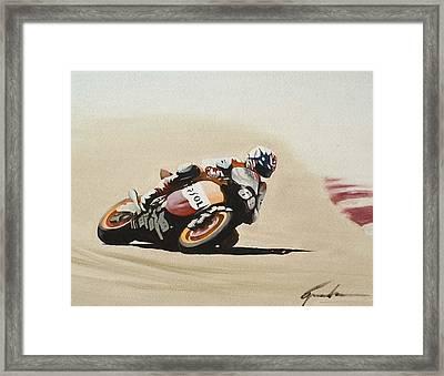 Hayden Framed Print by Greg Brauch