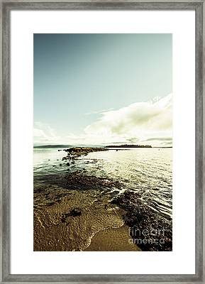 Hdr Island Scenery Framed Print by Jorgo Photography - Wall Art Gallery
