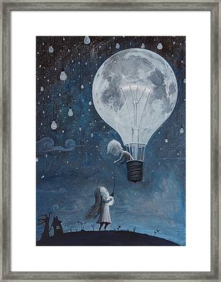 He Gave Me The Brightest Star Framed Print by Adrian Borda