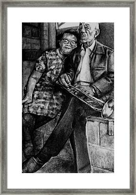 He Still Has It Framed Print by Curtis James