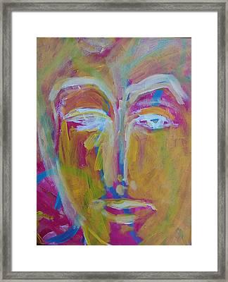 He The Man Framed Print by Judith Redman