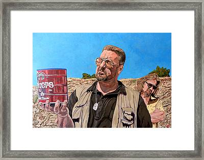 He Was One Of Us Framed Print by Tom Roderick