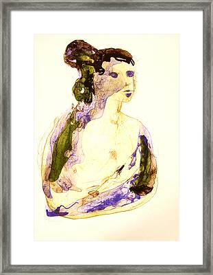 Head Framed Print by Mountain Dreams