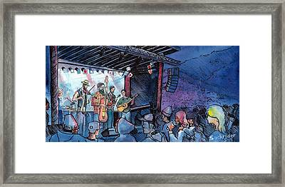 Head For The Hills At The Mish Framed Print by David Sockrider