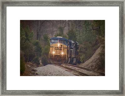 Headed North Framed Print by Jim Pearson