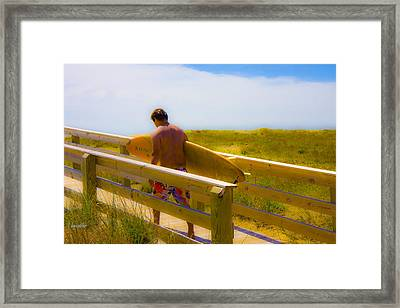 Heading Out Framed Print by Betsy Knapp
