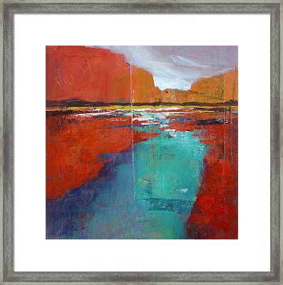 Heading West No.1 Framed Print by Melody Cleary