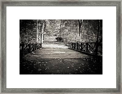 Headless Horseman Bridge - Sleepy Hollow Framed Print by Colleen Kammerer