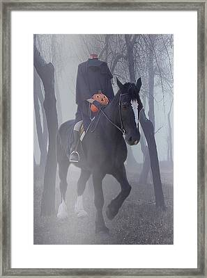 Headless Horseman Framed Print by Christine Till