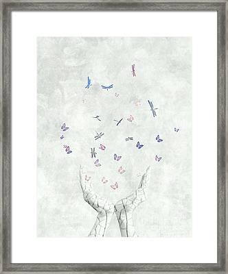 Heal Framed Print by Jacky Gerritsen