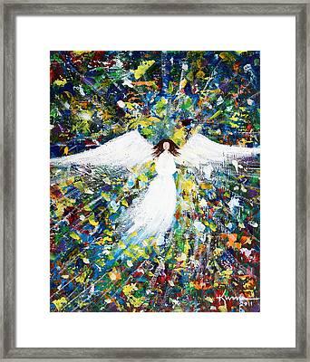 Healing Angel 1 Framed Print by Kume Bryant