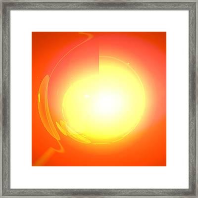 Healing-door No. 03 Framed Print by Ramon Labusch