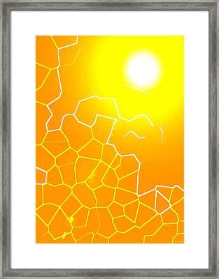Healing-light No. 02 Framed Print by Ramon Labusch