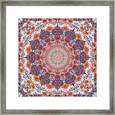 Healing Mandala 2 Framed Print by Bell And Todd