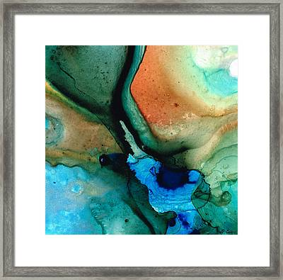 Healing Thoughts Framed Print by Sharon Cummings