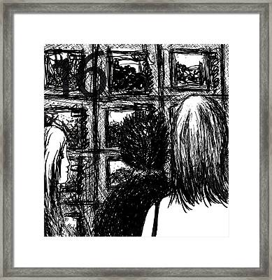 Health Nut Framed Print by Rachel Christine Nowicki