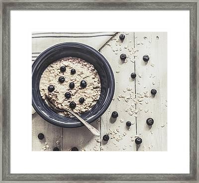 Healthy Eating Framed Print by Kim Hojnacki