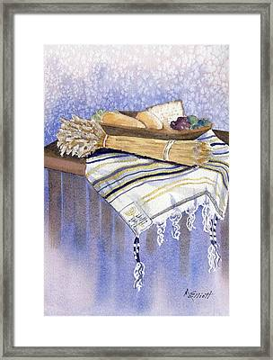 Hear O Israel Framed Print by Marsha Elliott