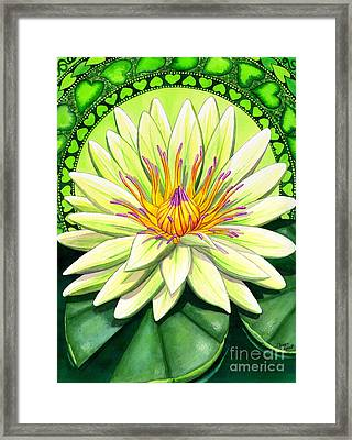 Heart Chakra Framed Print by Catherine G McElroy