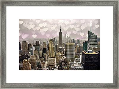Heart Empire Framed Print by Martin Newman