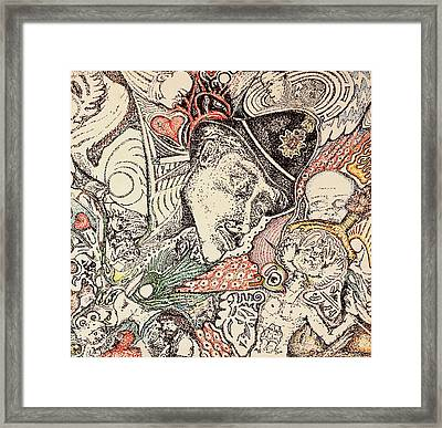 Heart Healthy Framed Print by Charles Kabrich