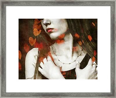 Heart Of Gold Framed Print by Paul Lovering