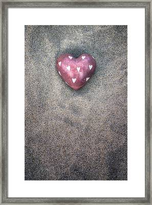 Heart Of Stone Framed Print by Joana Kruse