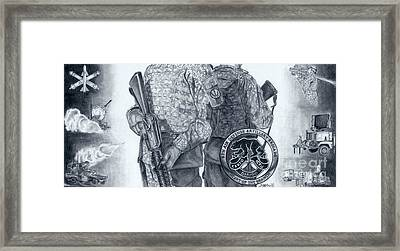 Heart Of The Branch Framed Print by Erin Smith