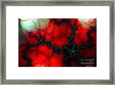 Heart Pulse Framed Print by Clayton Bruster
