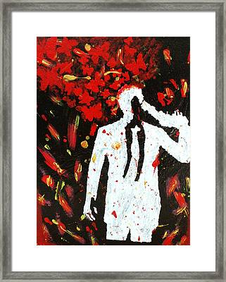 Heartbreak  Framed Print by April Harker