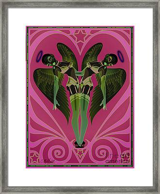 Heartbreakers Framed Print by Cristina McAllister