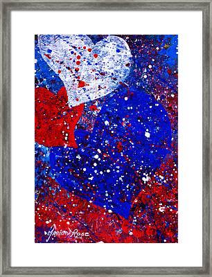 Heartfelt 3 Framed Print by Marion Rose