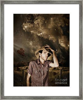 Heartland Of Outback Country Australia Framed Print by Jorgo Photography - Wall Art Gallery