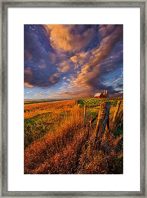 Heartland Framed Print by Phil Koch