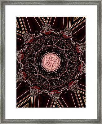 Hearts Forever Framed Print by Natalie Holland