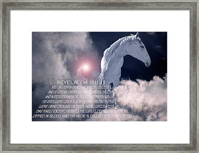 Heaven Opened Framed Print by Soli Deo Gloria Wilderness And Wildlife Photography