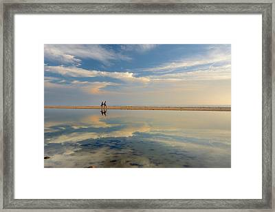 Heaven Walk Framed Print by Guido Montanes Castillo