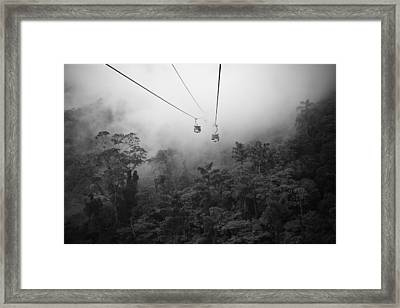 Heaven Way's Framed Print by Cuandi Kuo