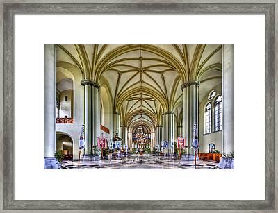 Heavenly Framed Print by Evelina Kremsdorf