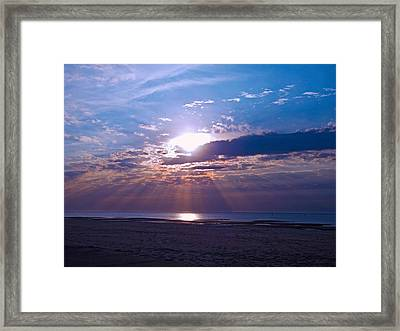 Heavenly Skies Framed Print by Brian Wright