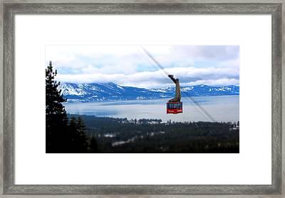 Heavenly Tram South Lake Tahoe Framed Print by Brad Scott
