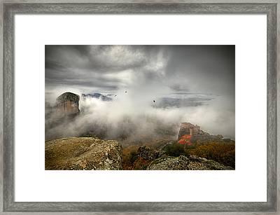 Heavens Above Framed Print by Cristian Kirshbom