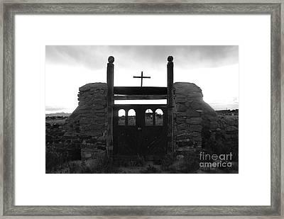 Heaven's Gate Framed Print by David Lee Thompson