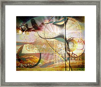Heaven's Gate Framed Print by Mimulux patricia no