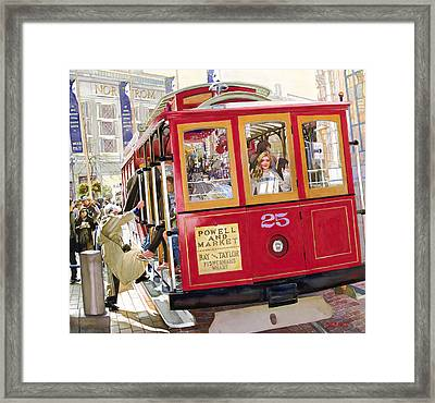 Heavens Great San Franciscos Better Framed Print by Mike Hill
