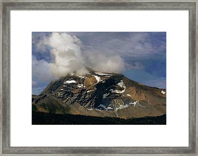 Heaven's Peak Framed Print by Marty Koch