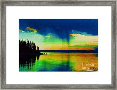 Heaven's Rest Framed Print by Diane E Berry