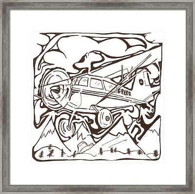 Heavier Than Air Maze Framed Print by Yonatan Frimer Maze Artist