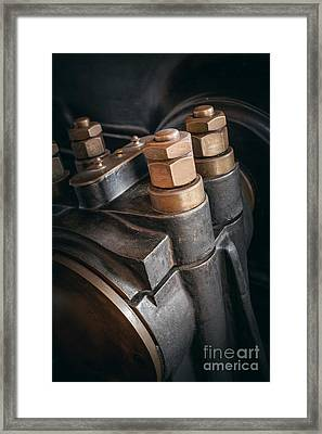 Heavy Industry Detail Framed Print by Carlos Caetano