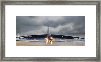 Heavy Weather Framed Print by Peter Chilelli